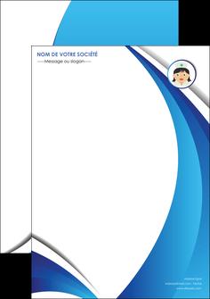 creation graphique en ligne affiche infirmier infirmiere medecin medecine docteur MIF30027