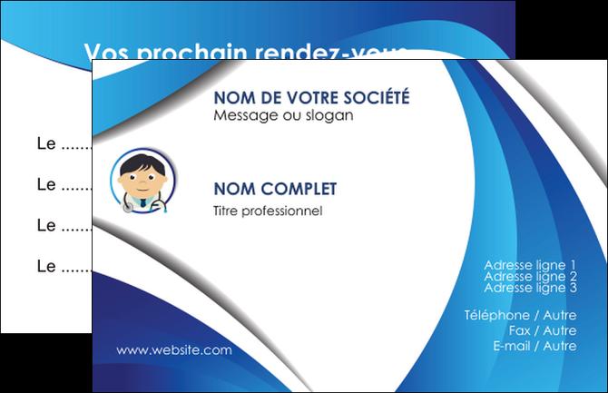 maquette en ligne a personnaliser carte de visite medecin medecin medecine docteur MLGI30119