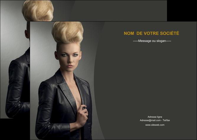 personnaliser maquette flyers centre esthetique  coiffure beaute salon MLGI30217