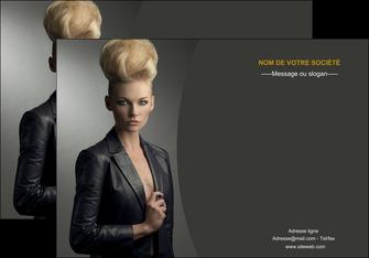 personnaliser maquette affiche centre esthetique  coiffure beaute salon MLGI30221