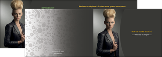 faire modele a imprimer depliant 2 volets  4 pages  centre esthetique  coiffure beaute salon MLGI30229