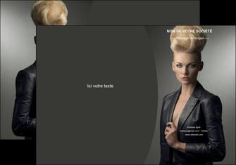 modele en ligne pochette a rabat centre esthetique  coiffure beaute salon MLGI30231