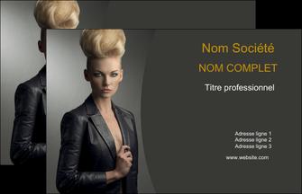 cree carte de visite centre esthetique  coiffure beaute salon MLGI30235