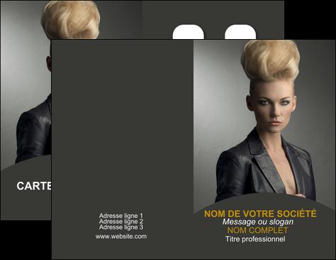 imprimerie carte de visite centre esthetique  coiffure beaute salon MLGI30237