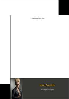 maquette en ligne a personnaliser tete de lettre centre esthetique  coiffure beaute salon MLGI30239