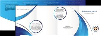 faire modele a imprimer depliant 4 volets  8 pages  materiel de sante medecin medecine docteur MLGI30255
