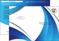 faire depliant 2 volets  4 pages  materiel de sante medecin medecine docteur MLGI30259