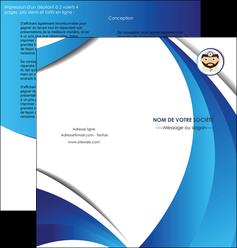 modele depliant 2 volets  4 pages  materiel de sante medecin medecine docteur MLGI30261