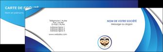 impression carte de visite materiel de sante medecin medecine docteur MLGI30263