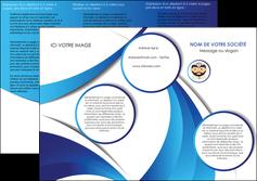 creer modele en ligne depliant 3 volets  6 pages  materiel de sante medecin medecine docteur MLGI30267