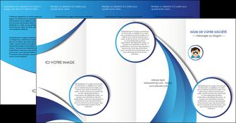 creation graphique en ligne depliant 4 volets  8 pages  materiel de sante medecin medecine docteur MLGI30329