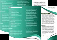 imprimer depliant 3 volets  6 pages  infirmier infirmiere medecin medecine sante MIF30379