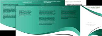maquette en ligne a personnaliser depliant 4 volets  8 pages  infirmier infirmiere medecin medecine sante MLGI30401