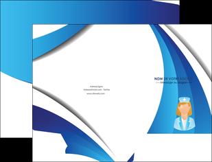 maquette en ligne a personnaliser pochette a rabat infirmier infirmiere infirmiere infirmerie blouse MLGI30479