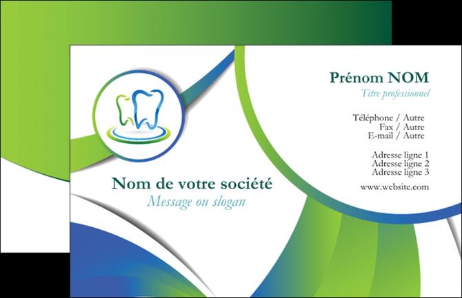 Creation Graphique En Ligne Carte De Visite Dentiste Dents Dentier MLGI30513