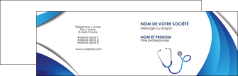 personnaliser maquette carte de visite materiel de sante medecin medecine docteur MLIG30561