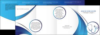 modele en ligne depliant 4 volets  8 pages  materiel de sante medecin medecine docteur MLGI30571