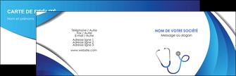 personnaliser maquette carte de visite materiel de sante medecin medecine docteur MLIG30579
