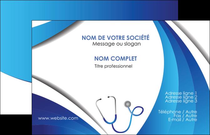 Carte De Visite Gratuite Exemple Materiel Sante Medecin Medecine Docteur MLGI30591