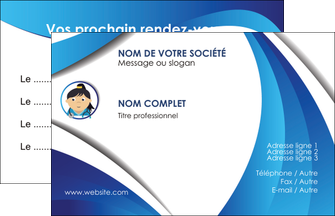maquette en ligne a personnaliser carte de visite chirurgien medecin medecine sante MIF30599
