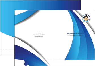 faire modele a imprimer pochette a rabat chirurgien medecin medecine sante MIF30631