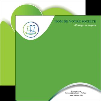 personnaliser modele de flyers dentiste dents dentiste dentier MLGI30637