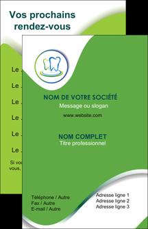 personnaliser modele de carte de visite dentiste dents dentiste dentier MLGI30639
