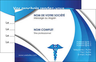 realiser carte de visite chirurgien medecin medecine sante MIS30697