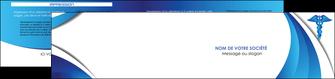 creation graphique en ligne depliant 2 volets  4 pages  chirurgien medecin medecine sante MIS30699