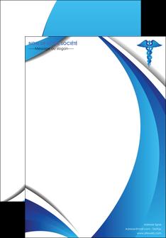 maquette en ligne a personnaliser affiche chirurgien medecin medecine sante MIS30717