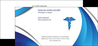 faire modele a imprimer carte de correspondance chirurgien medecin medecine sante MIS30723