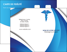 personnaliser maquette carte de visite chirurgien medecin medecine sante MIS30727