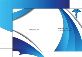imprimer pochette a rabat chirurgien medecin medecine sante MIS30731