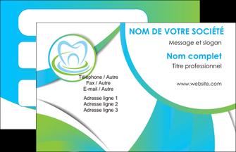 modele carte de visite dentiste dents dentiste dentier MLGI30781