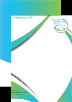 faire modele a imprimer flyers dentiste dents dentiste dentier MLGI30789
