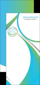 personnaliser maquette flyers dentiste dents dentiste dentier MLGI30797