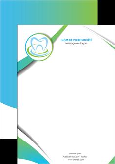 imprimer tete de lettre dentiste dents dentiste dentier MLGI30805