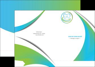 faire modele a imprimer pochette a rabat dentiste dents dentiste dentier MLGI30813