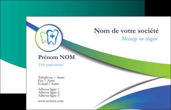 imprimer carte de visite dentiste dents dentiste dentier MLGI30823