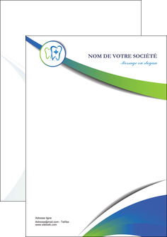 impression flyers dentiste dents dentiste dentier MLGI30837