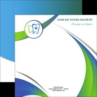 personnaliser modele de flyers dentiste dents dentiste dentier MLGI30863