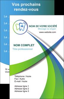 exemple carte de visite dentiste dents dentiste dentier MLGI30865