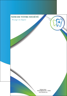 exemple flyers dentiste dents dentiste dentier MLGI30873