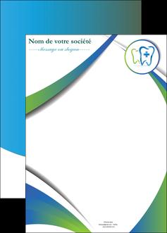 imprimerie affiche dentiste dents dentiste dentier MLGI30881