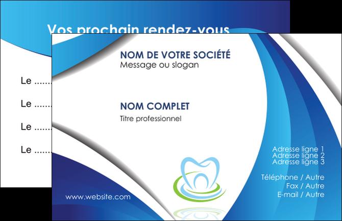 maquette en ligne a personnaliser carte de visite dentiste dents dentiste dentier MLIG30967
