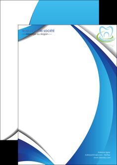 imprimerie flyers dentiste dents dentiste dentier MLIG30979