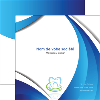 exemple flyers dentiste dents dentiste dentier MLIG30997