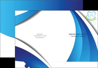 maquette en ligne a personnaliser pochette a rabat dentiste dents dentiste dentier MLGI30999
