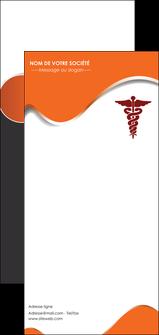 faire modele a imprimer flyers chirurgien pharmacie hopital medecin MIF31073