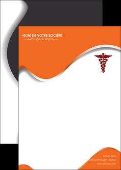 faire flyers chirurgien pharmacie hopital medecin MLIG31081